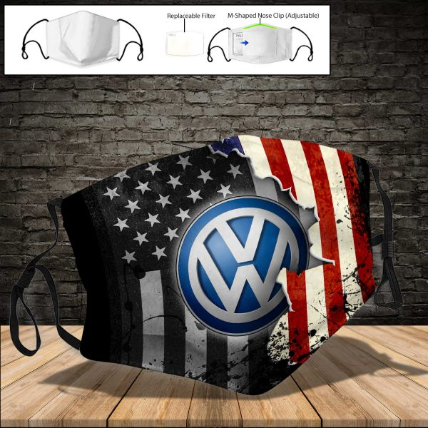 Volkswagen Group PM 2.5 Air Pollution Masks Washable Reusable Face Mask F#2