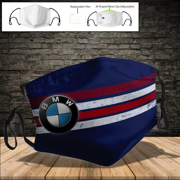 BMW Motorrad PM 2.5 Air Pollution Masks Washable Reusable Face Mask F#4