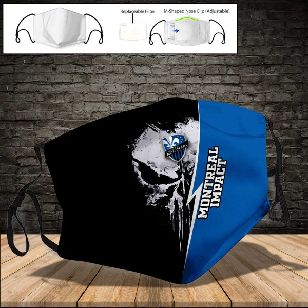 Montreal Impact PM 2.5 Air Pollution Masks Washable Reusable Face Mask F#8