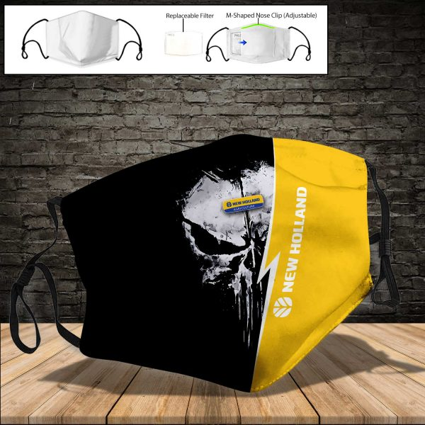 New Holland Agriculture PM 2.5 Air Pollution Masks Washable Reusable Face Mask F#8