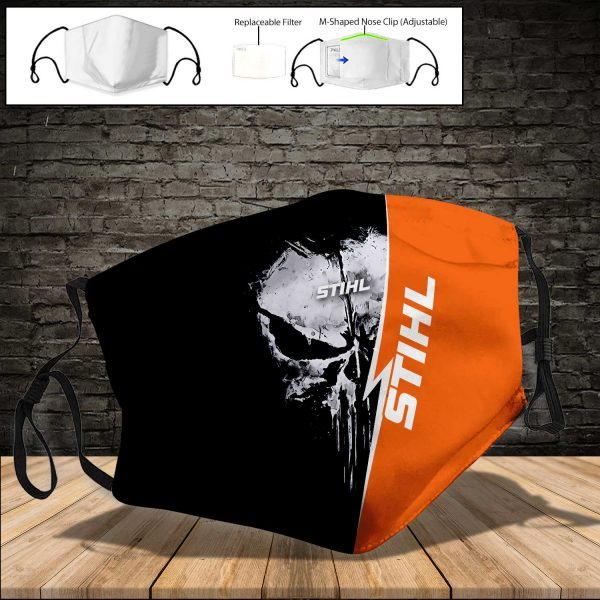 Stihl PM 2.5 Air Pollution Masks Washable Reusable Face Mask F#8