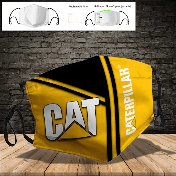 Caterpillar Inc PM 2.5 Air Pollution Masks Washable Reusable Face Mask F#8