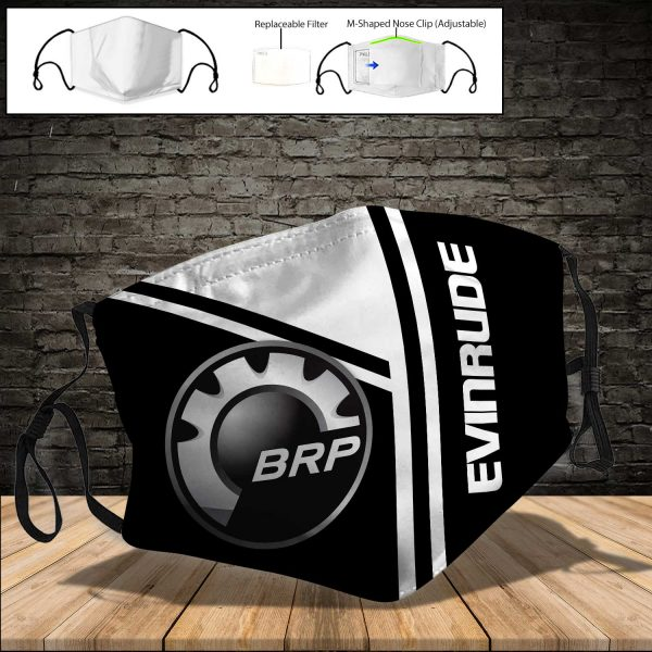 Evinrude Outboard Motors PM 2.5 Air Pollution Masks Washable Reusable Face Mask F#8