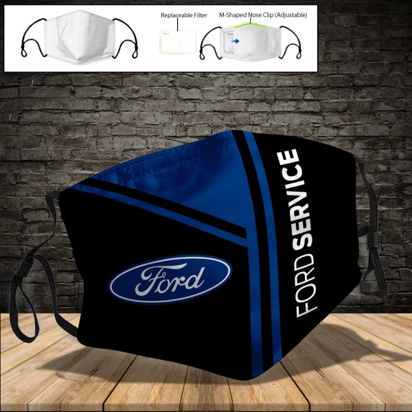 Ford 1 PM 2.5 Air Pollution Masks Washable Reusable Face Mask F#8