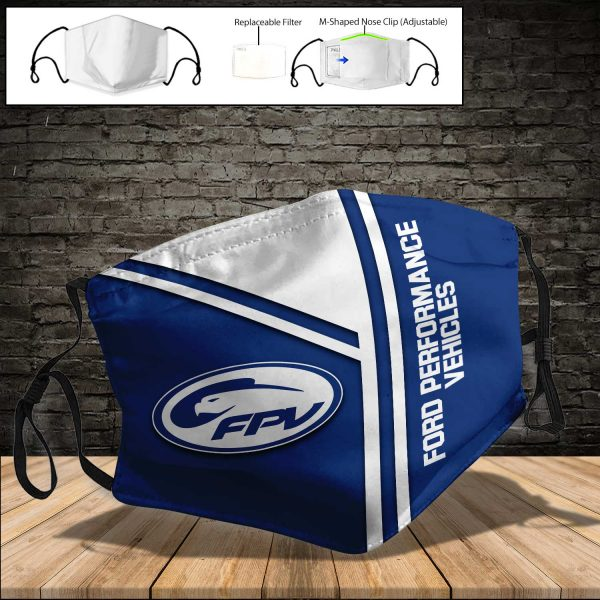 Ford Performance Vehicles PM 2.5 Air Pollution Masks Washable Reusable Face Mask F#8