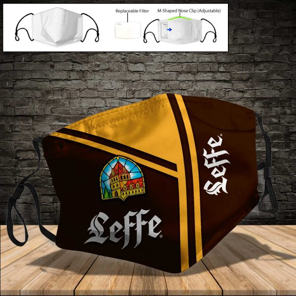 Leffe PM 2.5 Air Pollution Masks Washable Reusable Face Mask F#8