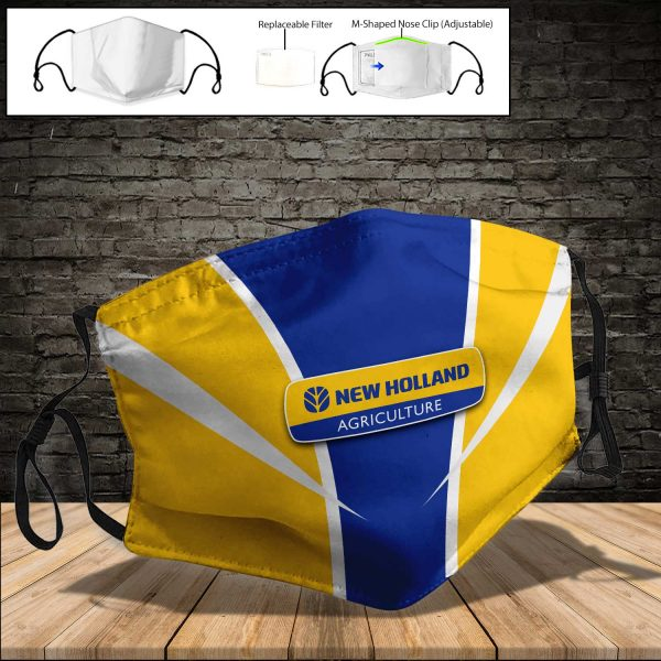New Holland Agriculture PM 2.5 Air Pollution Masks Washable Reusable Face Mask F#7
