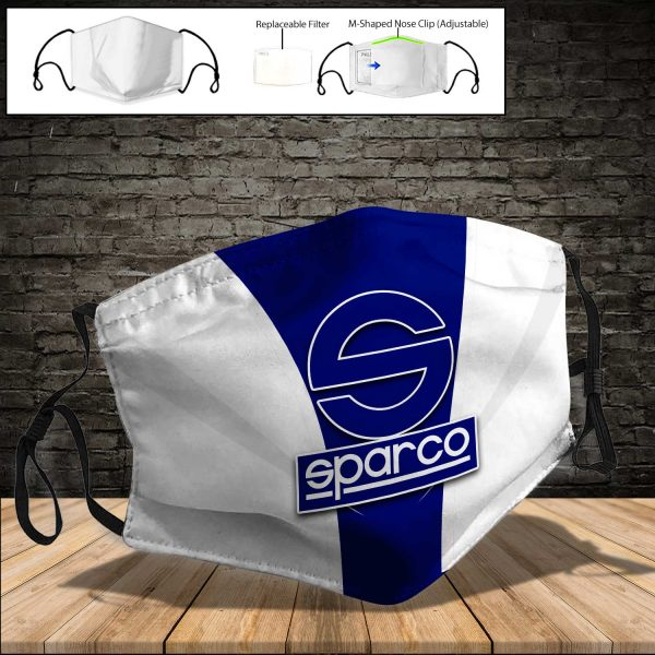 Sparco PM 2.5 Air Pollution Masks Washable Reusable Face Mask F#7