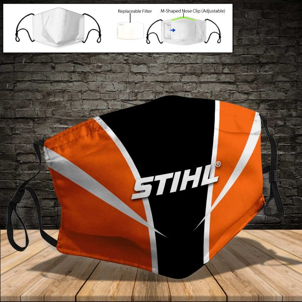 Stihl PM 2.5 Air Pollution Masks Washable Reusable Face Mask F#7