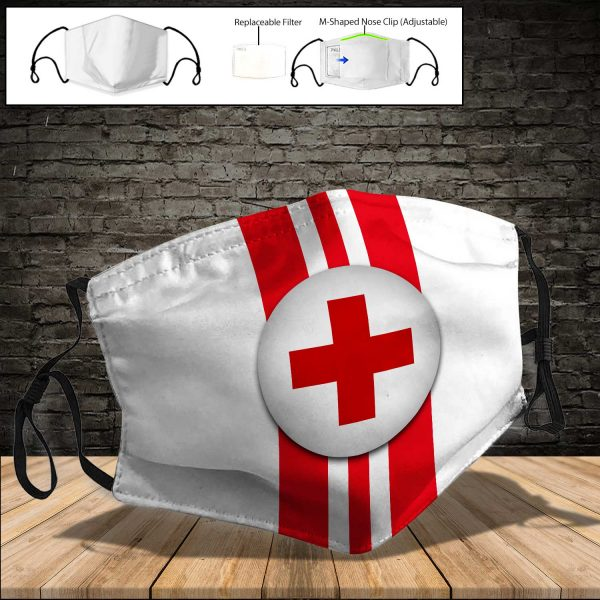 American Red Cross PM 2.5 Air Pollution Masks Washable Reusable Face Mask F#6