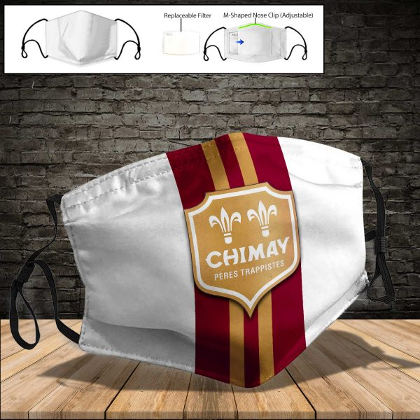 Chimay Brewery PM 2.5 Air Pollution Masks Washable Reusable Face Mask F#6