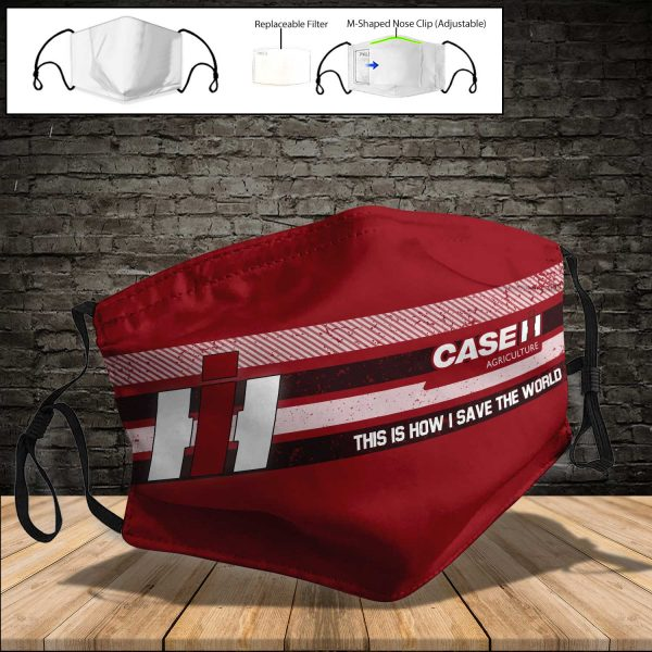 Case IH PM 2.5 Air Pollution Masks Washable Reusable Face Mask F#5