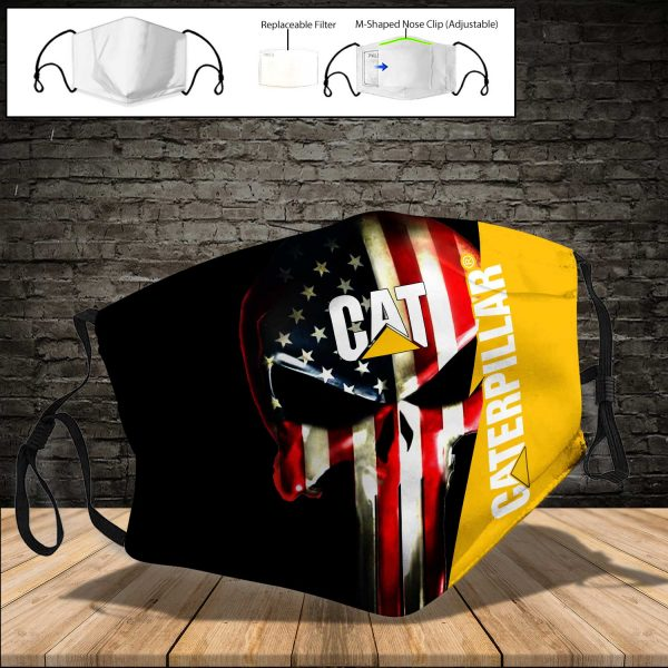 Caterpillar Inc PM 2.5 Air Pollution Masks Washable Reusable Face Mask F#1