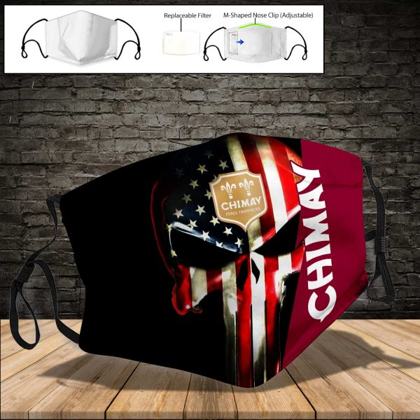 Chimay Brewery PM 2.5 Air Pollution Masks Washable Reusable Face Mask F#1