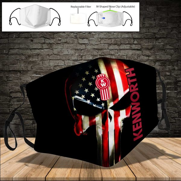 Kenworth PM 2.5 Air Pollution Masks Washable Reusable Face Mask F#1