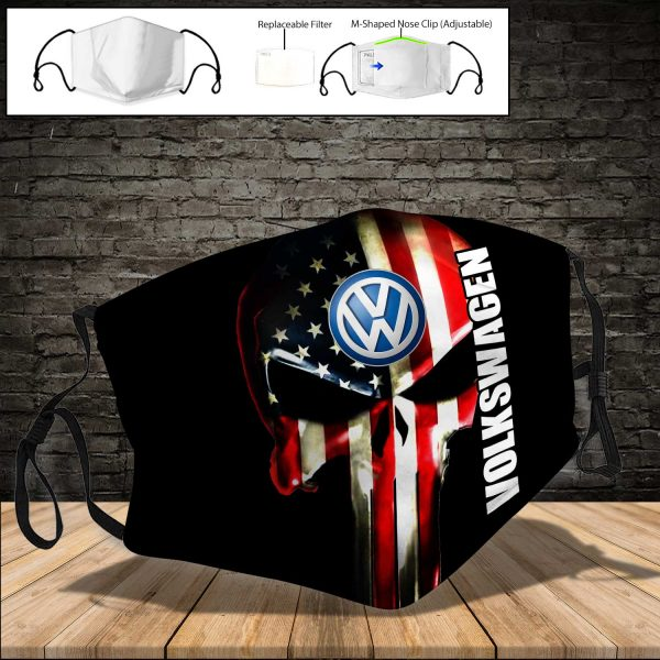 Volkswagen Group PM 2.5 Air Pollution Masks Washable Reusable Face Mask F#1