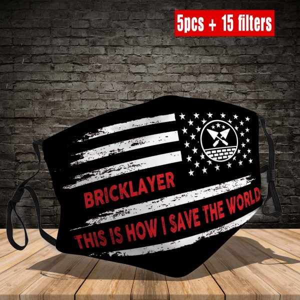 Bricklayer Face Mask