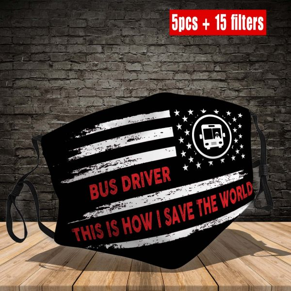 Bus Driver Face Mask