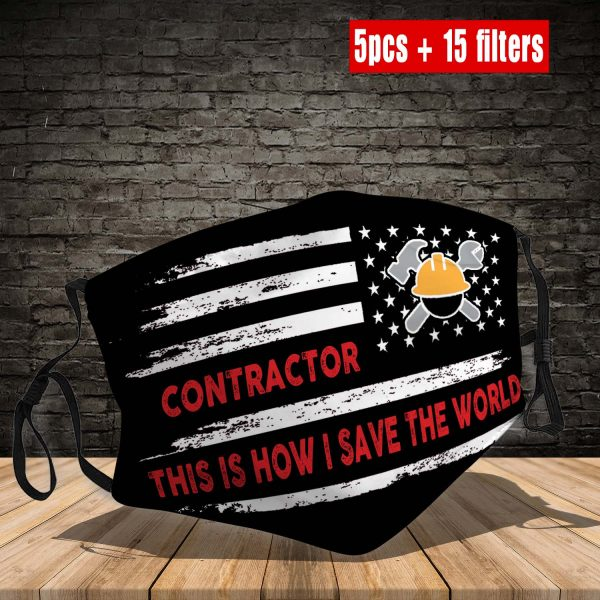 Contractor Face Mask