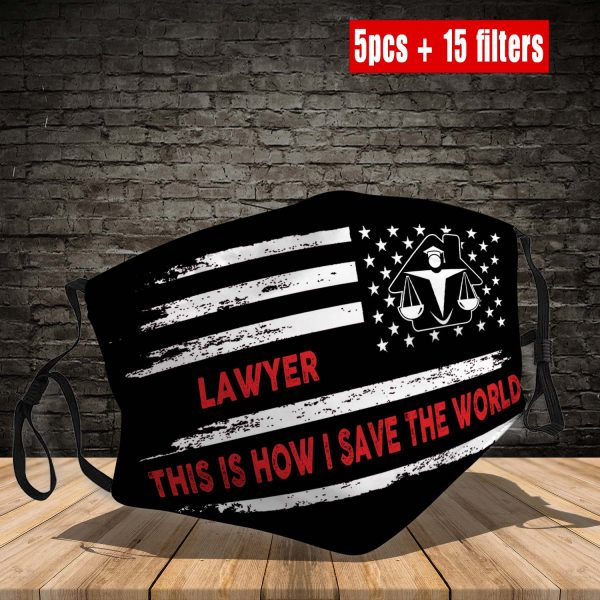Lawyer Face Mask