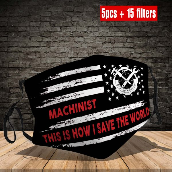 Machinist Face Mask