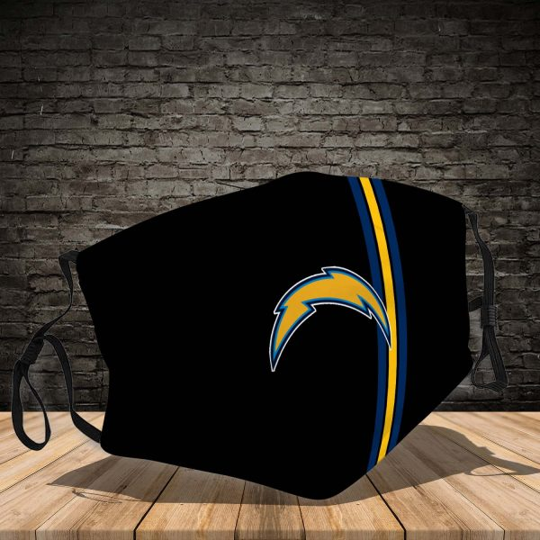 Los Angeles Chargers 3D Face Mask-VGLAFM0114