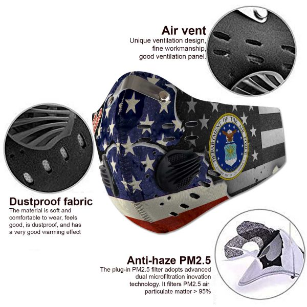 United States Air Force - Sport-Mask #3