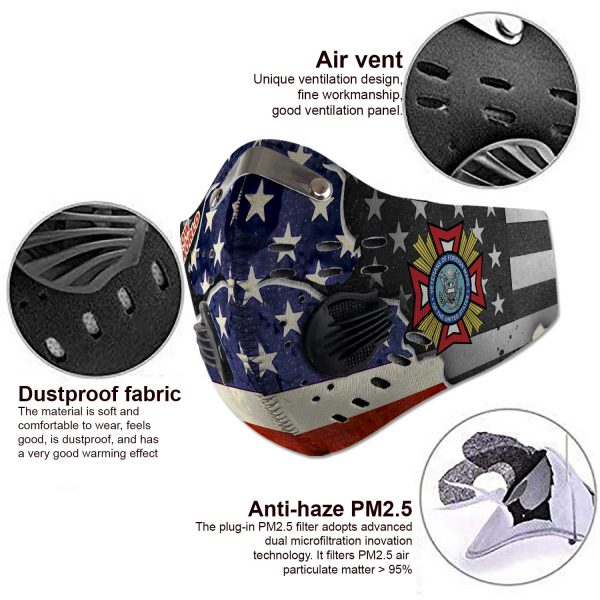 Veterans of Foreign Wars - Sport-Mask #3
