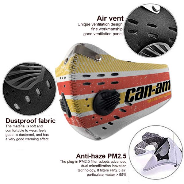 Can Am motorcycles - Sport-Mask #6