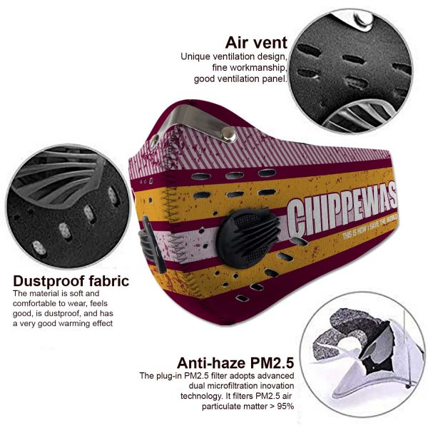 Central Michigan Chippewas - Sport-Mask #6