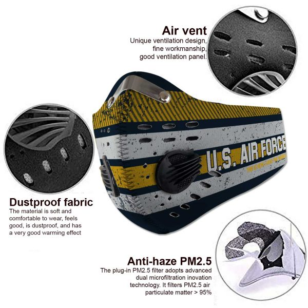 United States Air Force - Sport-Mask #6
